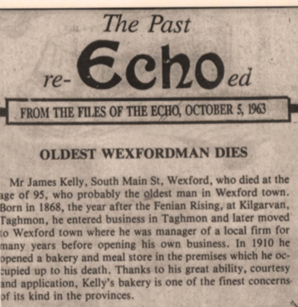 Death of founder James Kelly RIP